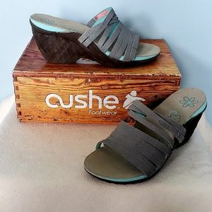 NEW - Cushe Footwear Weave Wedge Sandles